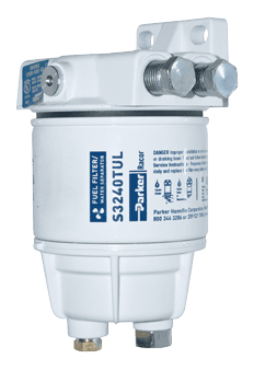 Racor Spin-on marine filters - 100 serie CE-gekeurd (ISO 11088)