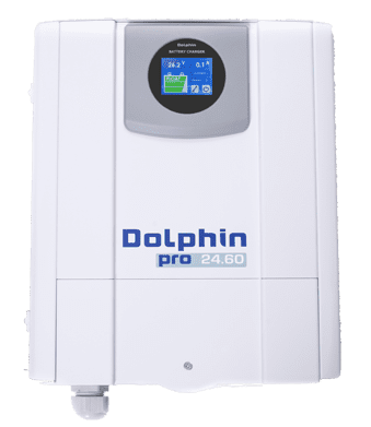 allpa Acculader 24V - 60A mod. Dolphin Pro Touch View