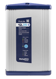 allpa Dolphin Prolite acculader IP65   12V 25A   3x out