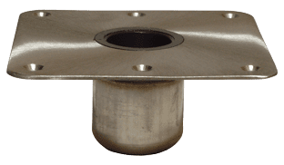 allpa Taper-Lock Serie  power-rise sit down opbouw voet 9 (229mm)  rond